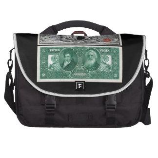 $2 Dollar Bill U.S. Silver Certificate Series 1896 Commuter Bag