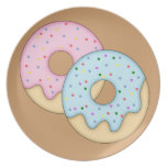 2 Donuts Plate