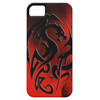 2 Dragons black iPhone SE/5/5s Case