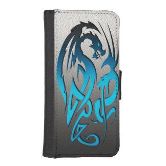 2 Dragons blues iPhone SE/5/5s Wallet Case