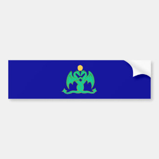 2 dragons dragee ONS Bumper Sticker