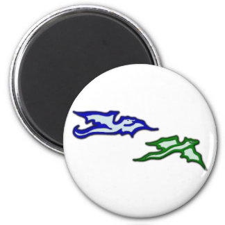 2 dragons dragee ONS Magnet