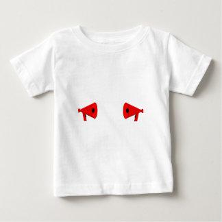 2 dueling bullhorns baby T-Shirt