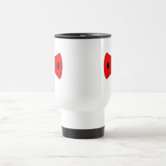 2 dueling bullhorns travel mug