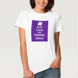 2 echado a un lado - guarde la calma y la danza de polera