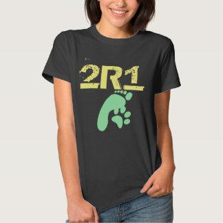 (2 especies 1 pensadas) diseño original 2R1 Polera