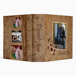 "2"" Eternal Love Photo Album 3 Ring Binder"