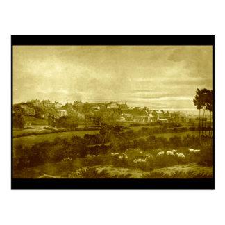 (2) Everton, Liverpool, circa 1820s Postcard