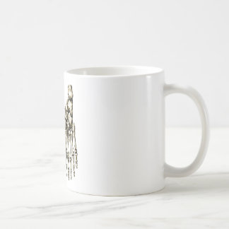 2 Feet Down bronze Coffee Mug