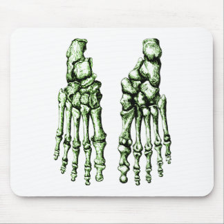 2 Feet Down Green Mouse Pad