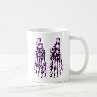 2 Feet Down Purple Coffee Mug