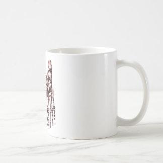 2 Feet Down Red Coffee Mug