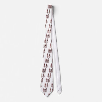 2 Feet Down Red Neck Tie