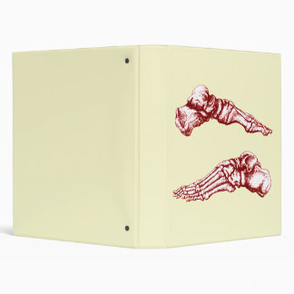2 Feet Lateral Light Red Binder