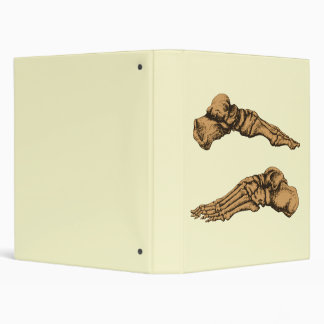 2 Feet Lateral Sepia 3 Ring Binder