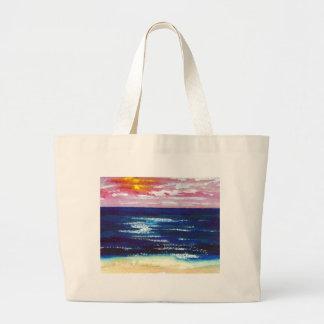 2 felices - Regalos del arte de la playa de la pue Bolsas De Mano