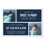 2 fiesta de cumpleaños del dulce dieciséis de las invitación 8,9 x 12,7 cm