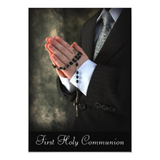 2, First Holy Communion Personalized Announcements