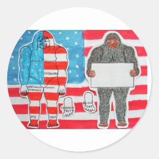 2 foo grande A texto y bandera en U S A flag
