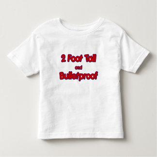 2 foot tall and Bulletproof toddler shirt