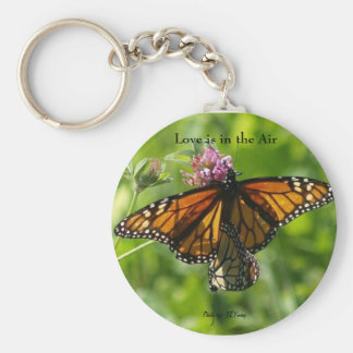 2 for 1 photo butterflies, Love is in the Air, ... Key Chain