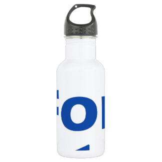 2 for 1 stainless steel water bottle