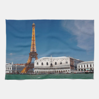 2 for 1 Venice and Paris - Mixed up World Kitchen Towel