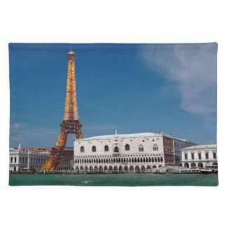 2 for 1 Venice and Paris - Mixed up World Place Mat