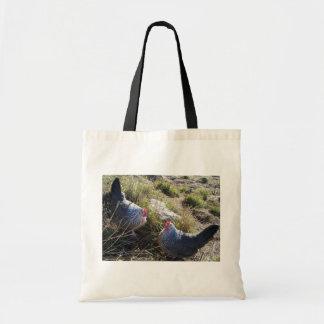 2 Free Range Silver Grey Dorking Hens Bag