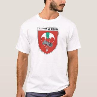 2. Fsch Jg Btl 251 Verbandsabzeichen Aufkleber 2.p T-Shirt