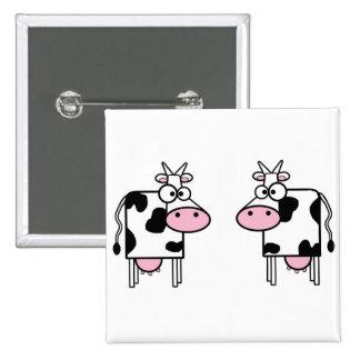 2 funny cows pin