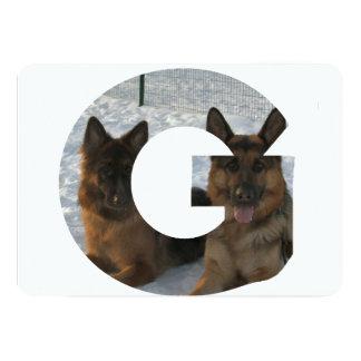 2 german shepherds in letter g.png card