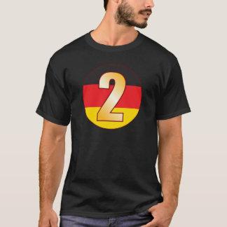 2 GERMANY Gold T-Shirt