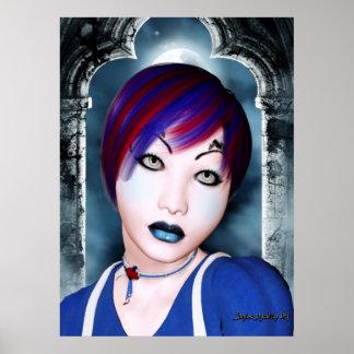 # 2 góticos hermosos posters