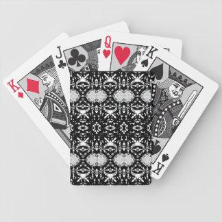 #2 góticos - Naipes blancos y negros
