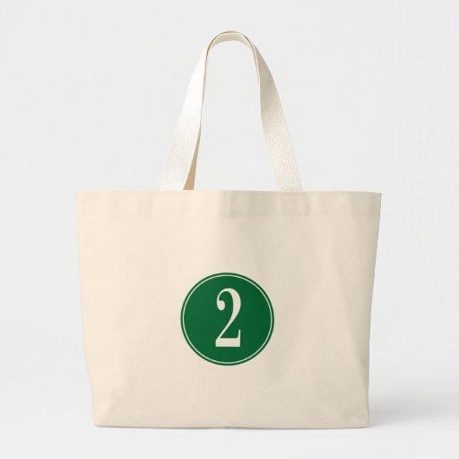 #2 Green Circle Bag