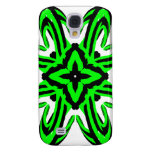 2 Green Transparent Samsung Galaxy S4 Cover