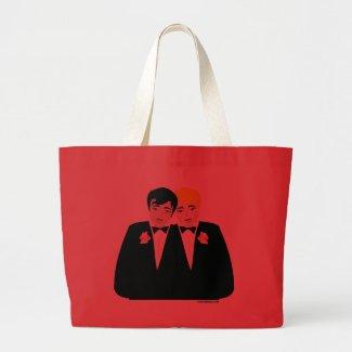 2 Grooms (Blonde and Black Hair) bag