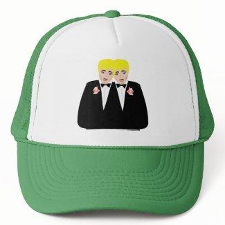 2 Grooms Blonde hat