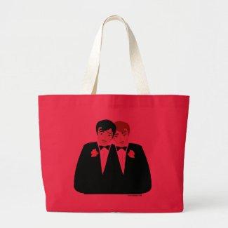 2 Grooms (Brown Hair and Black Hair) bag