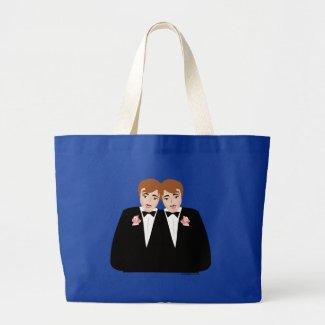 gay wedding bags