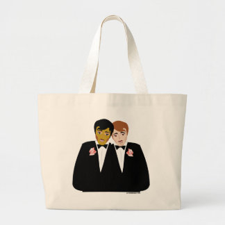 2 Grooms (Ethnic and Brown-Haired) Bags