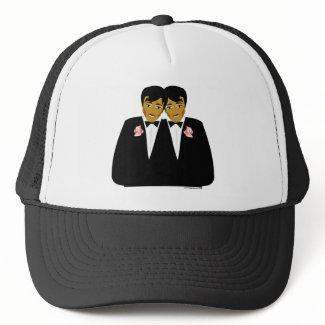 2 Grooms Ethnic hat
