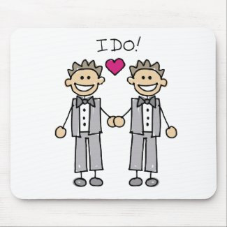 2 Grooms mousepad