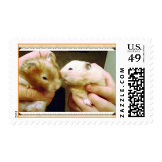 2 Hamster Postage