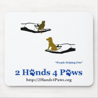2 Hands 4 Paws Mousepad