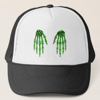 2 Hands Down Deep Green Trucker Hat