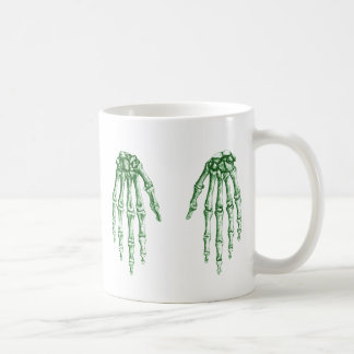 2 Hands Down Green Coffee Mug