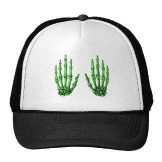 2 Hands Up Deep Green Trucker Hat