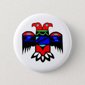 2 Head Thunderbird Pinback Button